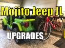 Jeep JL Hitch Extension, Mopar Floor Mats, and Shorty Antenna