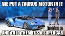 Ford GT Meme V6 Ecoboost FordMemes_2