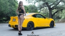 Samanthan Lewis with her Scion for ShockerRacingGirls_2