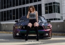 Sarah Senecal for ShockerRacingGirls with Beedojas Mustang_2