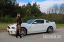 Taylor Ethridge(@MustangBeauty_5.0) with her 2014 Mustang 5.0_3
