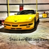 Toms Corvette in a Hanger at the Half Mile Shootout_3