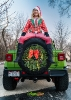 Mojito Jeep JL Wrangler Christmas Photoshoot_2