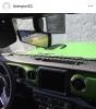 Mojito Green Jeep JL Dash _2