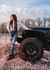 Winter Jeep Photo Shoot with JR Photon and Jeep Girls