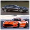 Callaway Stingray Corvette AeroWagon vs Time Attack Viper