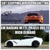 Corvette Sales vs Viper Sales Memes