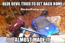 ZR1 Blue Devil falls in sink hole meme_1