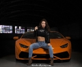 Bex Russ for ShockerRacingGirls with a Bentley and Lambo_4