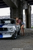 Bex Russ with a 1968 Shelby Mustang