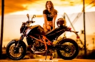 Bex Russ with a KTM 690Duke for ShockerRacingGirls_4