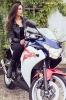 Bex Russ with her Honda CBR - Photos by Mathew Blasi_5