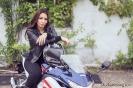 Bex Russ with her Honda CBR - Photos by Mathew Blasi_6