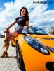Bex Russ with a Lotus Exige and a Camaro with photos by Dave Warner_5