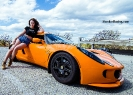 Bex Russ with a Lotus Exige and a Camaro with photos by Dave Warner_6