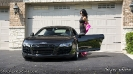 Angela Angelovska with Turks Audi R8 and Mooks Toyota Supra_2