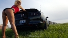 Jennifer Combs with her Ford Mustang GT_9
