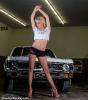 Karisha with a Chevy Nova for ShockerRacingGirls_5