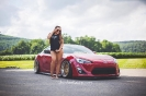 Sammy Marie aka ThatBoostedChick for ShockerRacingGirls with her Scion FRS_4