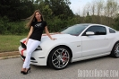 Taylor Ethridge(@MustangBeauty_5.0) with her 2014 Mustang 5.0_1