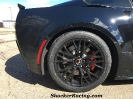 19x12 Gloss Black Wheels for C7Z06 with 345 Nitto NT05R Drag Radials