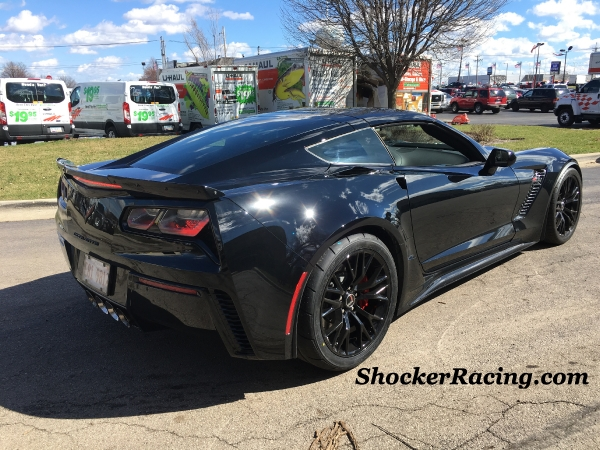 C7 Z06 with Nitto Drag Radials