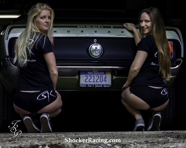 Nicole and Morgan for ShockerRacingGirls