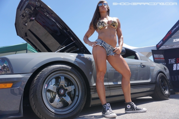 Kristen Graham Muscles and Muscle Cars for ShockerRacing Girls