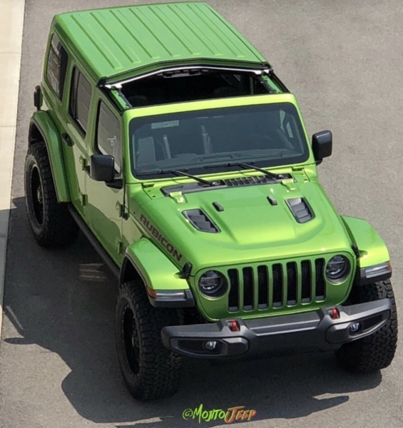 Mojito Jeep Wrangler JL Freedom Top Removal