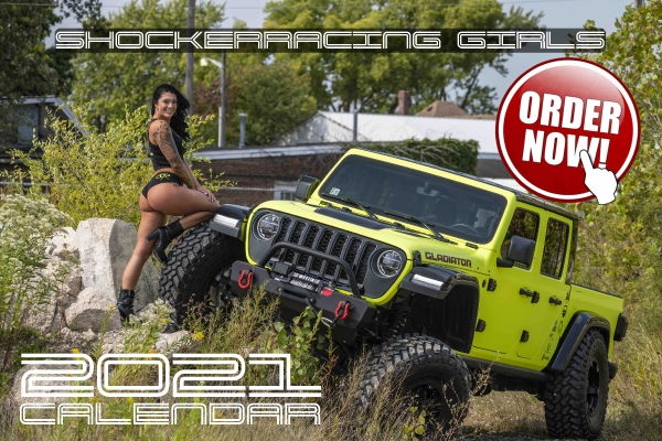 Order a 2021 ShockerRacing Girls Calendar