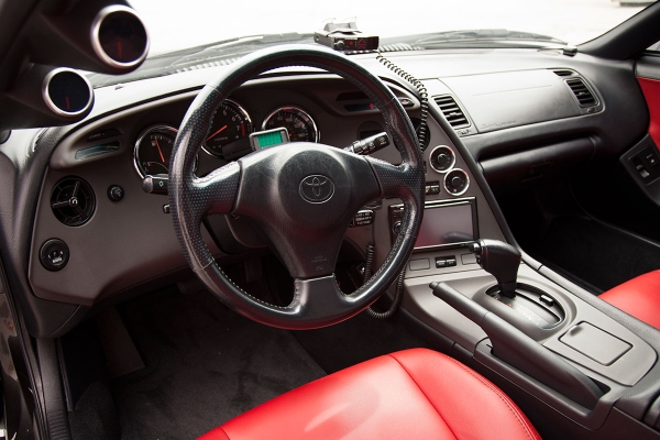 1998 Toyota Supra Turbo Interior
