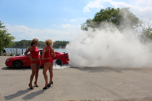 383 Stroker Burnout with LFL Chicago Bliss Girls
