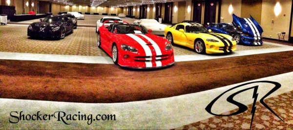 Dodge Vipers SRT GTS ACR Procharged Racing Stripes
