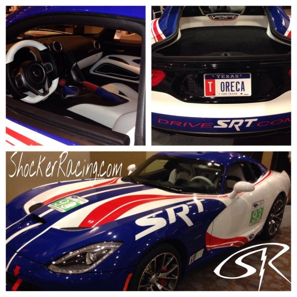 Special Edition SRT Viper Red White And Blue