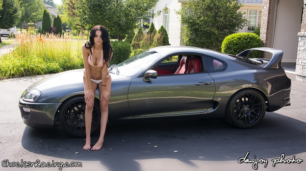Angela Angelovska with Mook's Supra