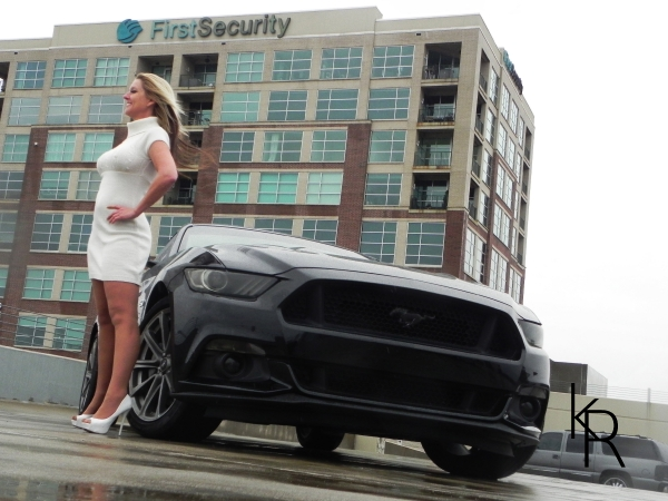 Shelby Wolf with an S550 2015 Mustang owned by Kody Robinson