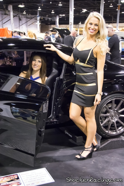 TG Models Ashley Wilke and Jamile De Campos at Tuner Galleria 2015