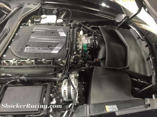 Halltech Systems Stinger-RZ Intake installed on the C7 Z06