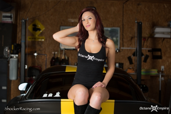 Skylar Baggett for ShockerRacingGirls with a Viper GTS - Photoshoot by Octane Empire