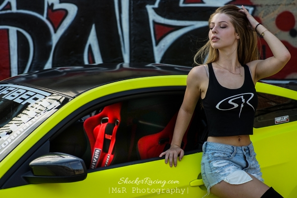 Marris Gulledge in her 2nd Shoot for ShockerRacingGirls