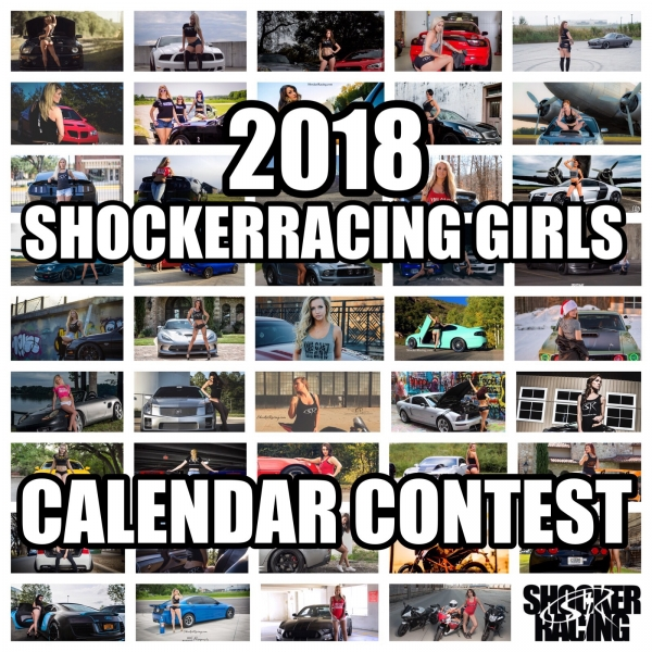 2018 ShockerRacingGirls Calendar Contest