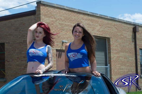 4th of July Photoshoot with Meeshell and Katie Ellie