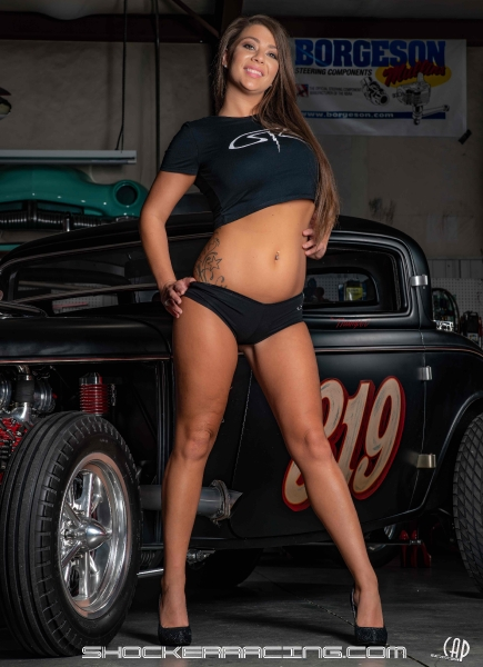 Aria Paige for ShockerRacing Girls