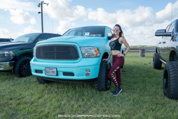 Skylar Baggett at Lonestar Mopar Fest 2018