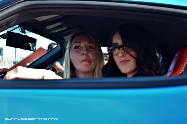 Angie and Miracle at Import Face Off