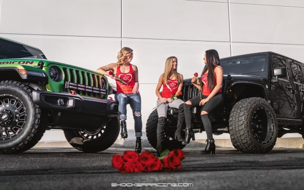 Jeep Girls - Kim, Kelsey Jackson, and Cora Nakos
