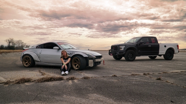 Angie Moltzan Drift Shoot