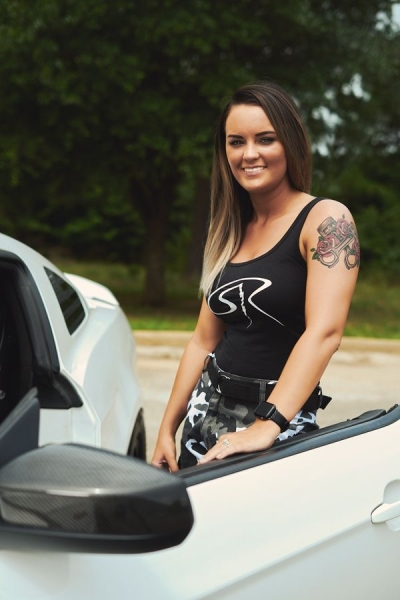 Laura Russell joins the ShockerRacing Girls