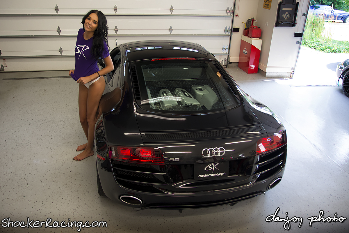 Dan Joy Photo Featuring Angela Angelovska and Turks Audi R8 V10